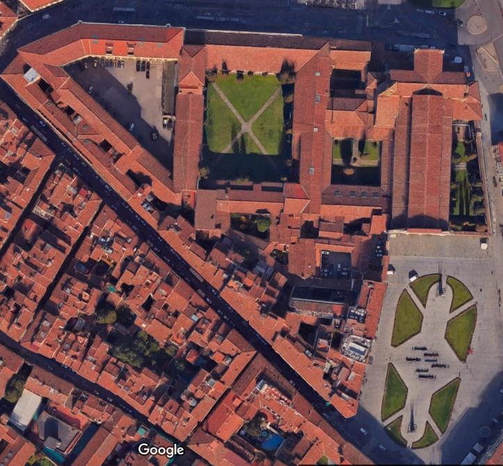 Google map of Santa Maria Novella