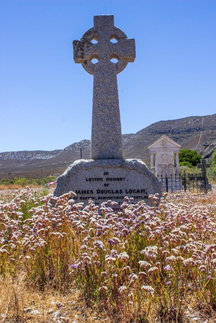 James Logan's grave, Matjiesfontein