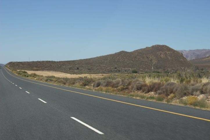 The N1 leading to Matjiesfontein