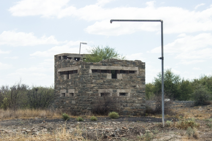 The remains of the Blockhouse from the Anglo-Boer War