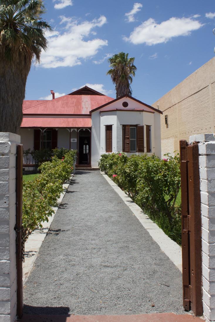 Christiaan Barnard's family home