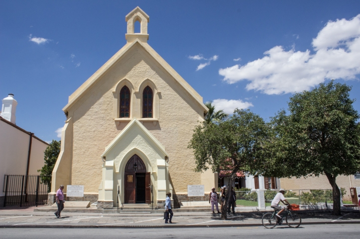 The DR Church in Beaufort West next to the Barnard family home