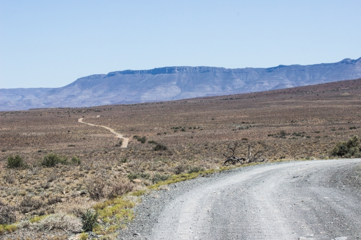 The 4x4 road into the western end of the Karoo National Park