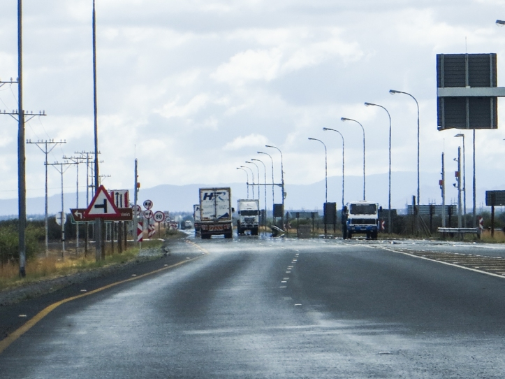 The N1 at Beaufort West