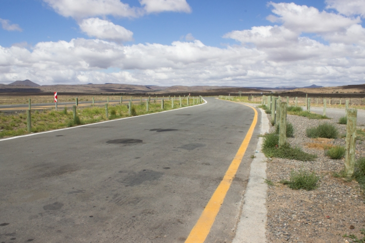 The N1 after Beaufort West
