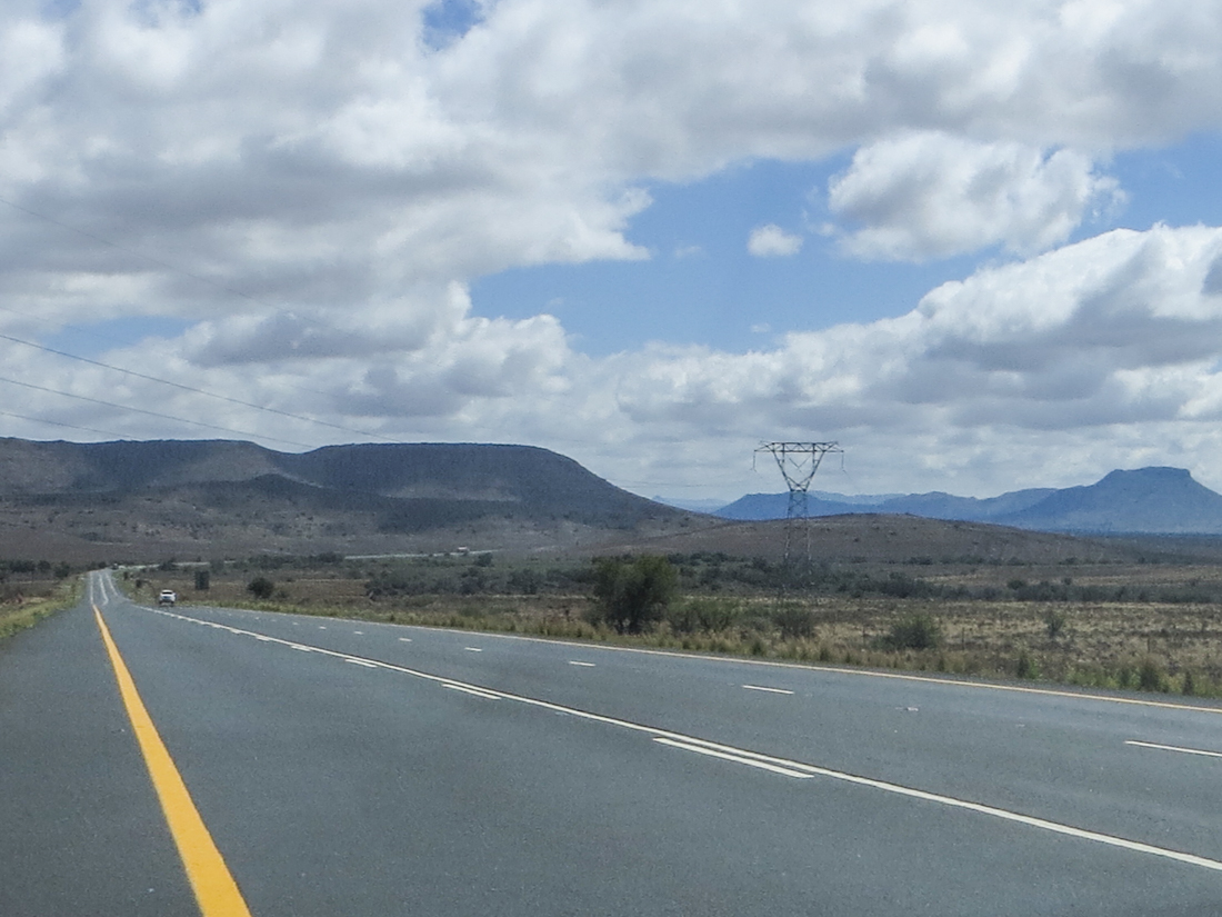 The N1 north of Beaufort West