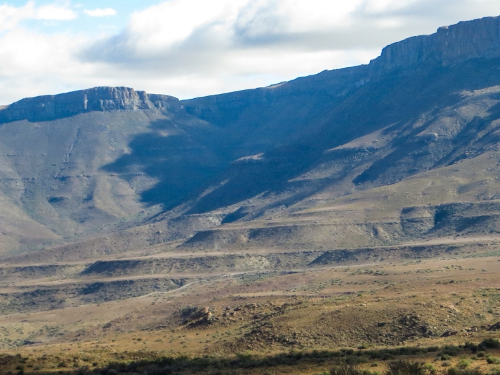 The Nuweveld Mountains in the Karoo National Park