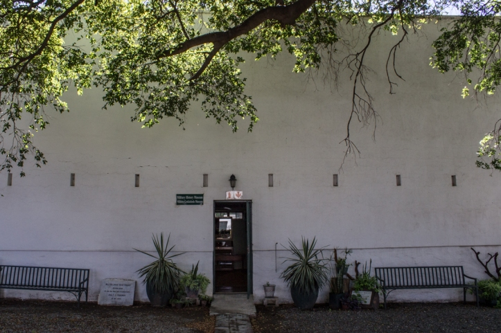 The Military Museum between Urquhart House & Reinet House