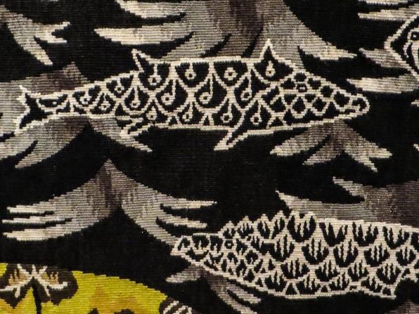 Detail from Soleil et Taureau (1946), Jean Lurcat