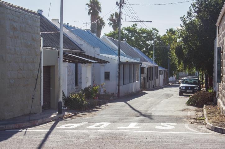 Oudtshoorn back streets