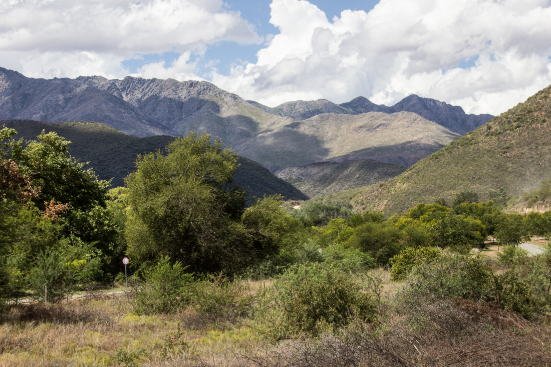 The Swartberg Mountains
