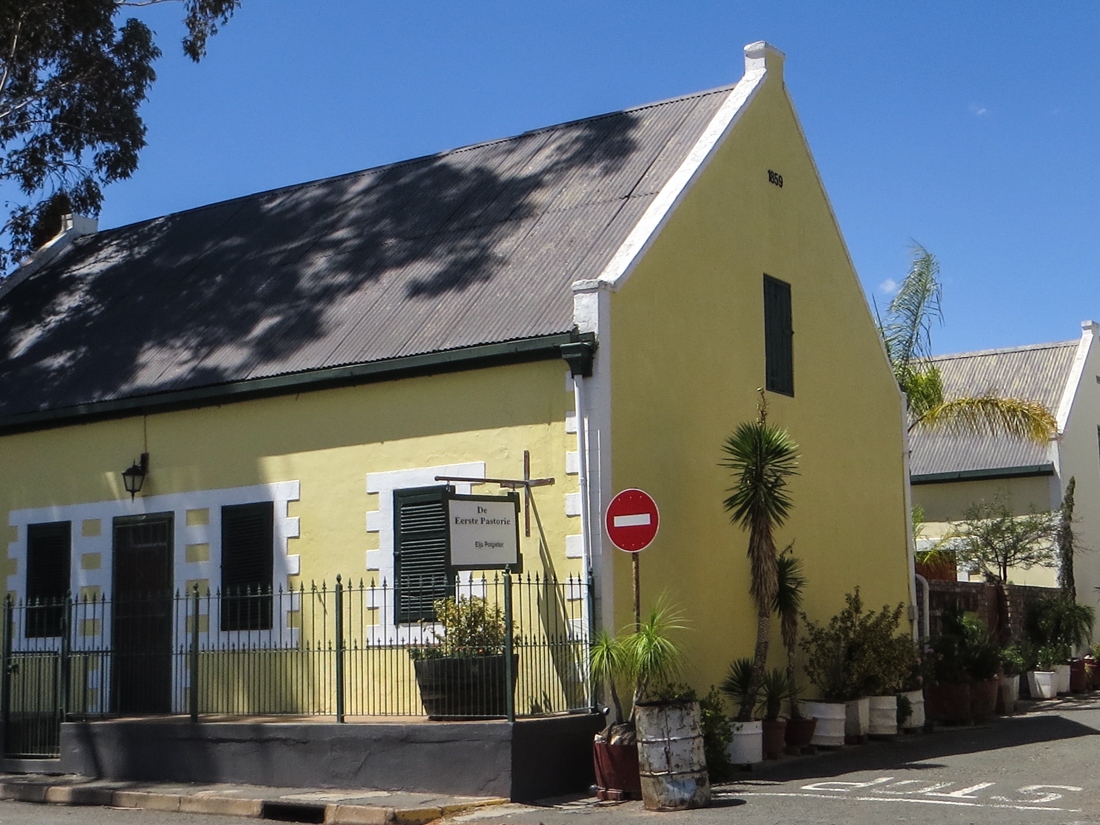 The Old Parsonage in Andries Pretorius Street