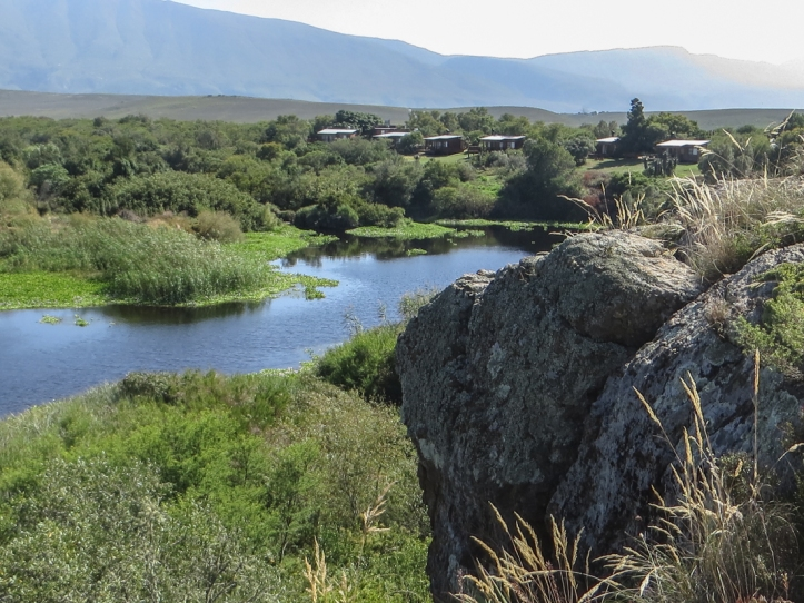 The Breede River & the Rest Camp