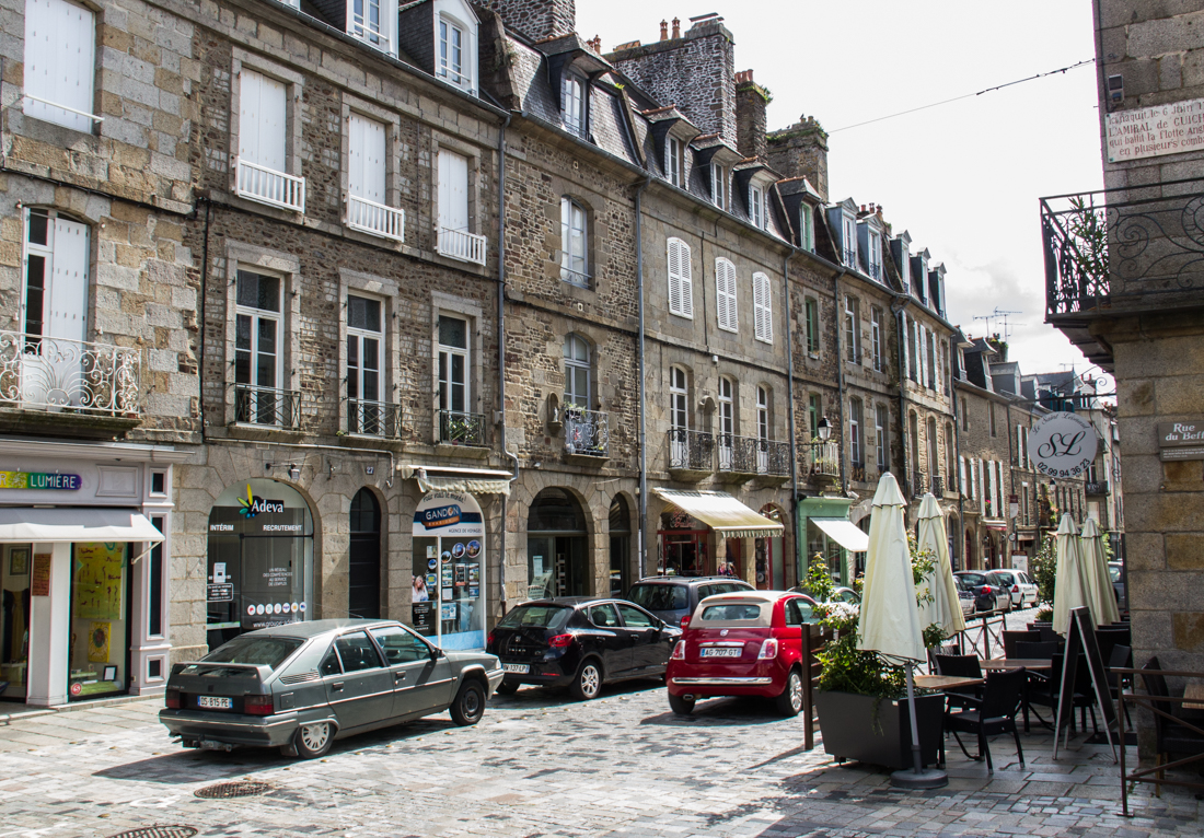 The Rue Nationale, Fougeres