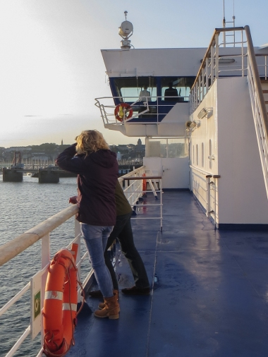 Ferry to St Malo