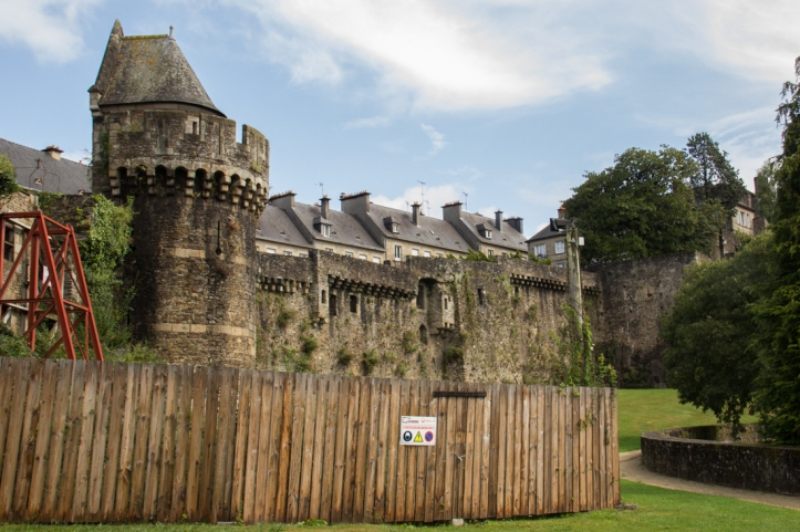 The City walls, Fougeres