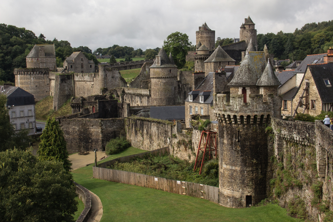 The Castle of Fougeres