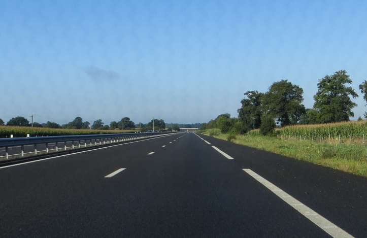 On the road out of Fougeres