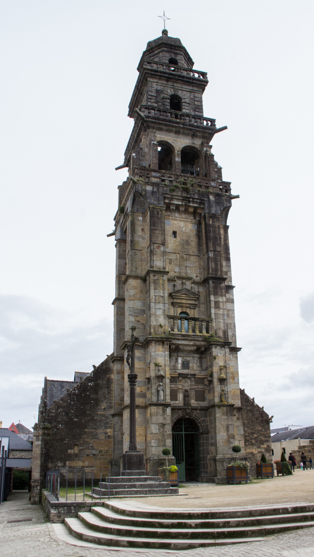 The Bell Tower of the Church of St Thomas, Landerneau