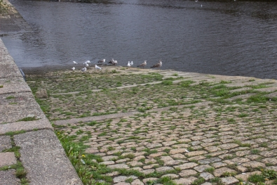 Slipway on the River Elorn in Landerneau