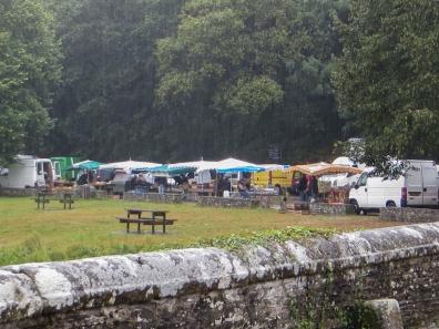 Sunday Market at The Abbey of Bon Repos