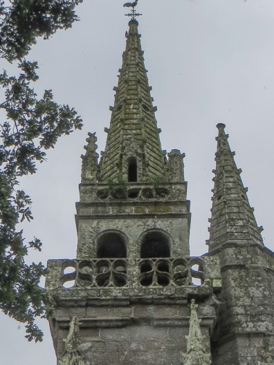 The Chapel of St Eloi, SE of St Nicolas du Pelem