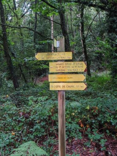 Walk from Caurel, Lac du Guerledan