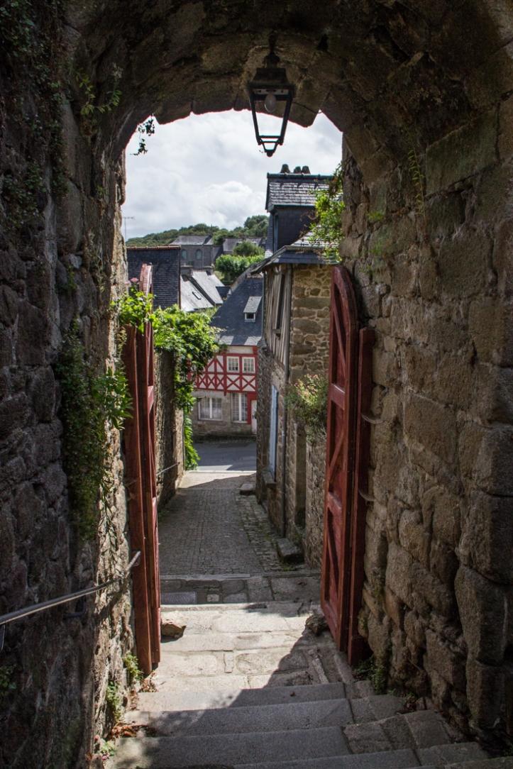 The Postern Gate of St Jean, Moncontour