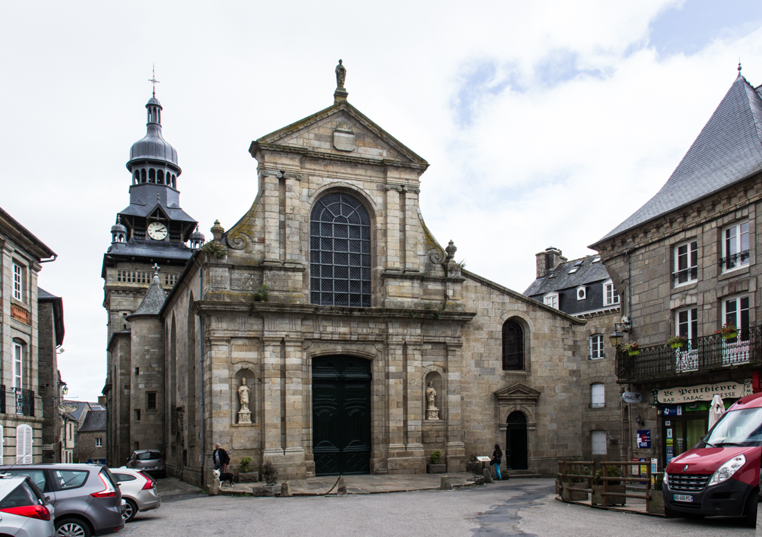 The Church of St Mathurin, Moncontour
