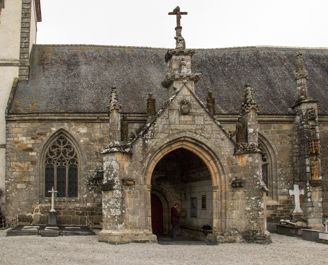 South Porch of the Church in Le Quillio