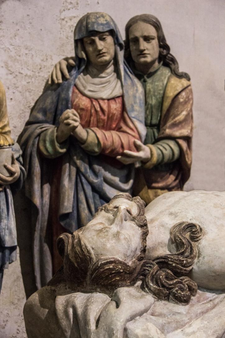 The Virgin Mary & St John