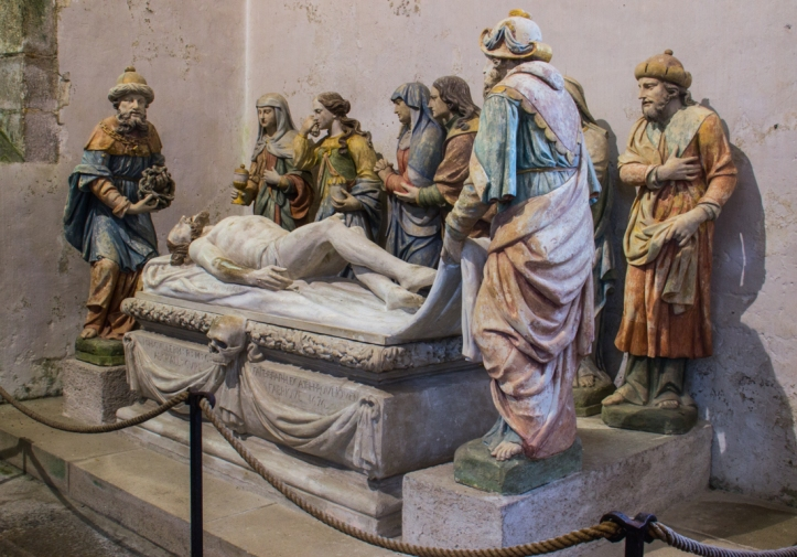 Chavagnac's Entombment in the Church of Lampaul-Guimiliau