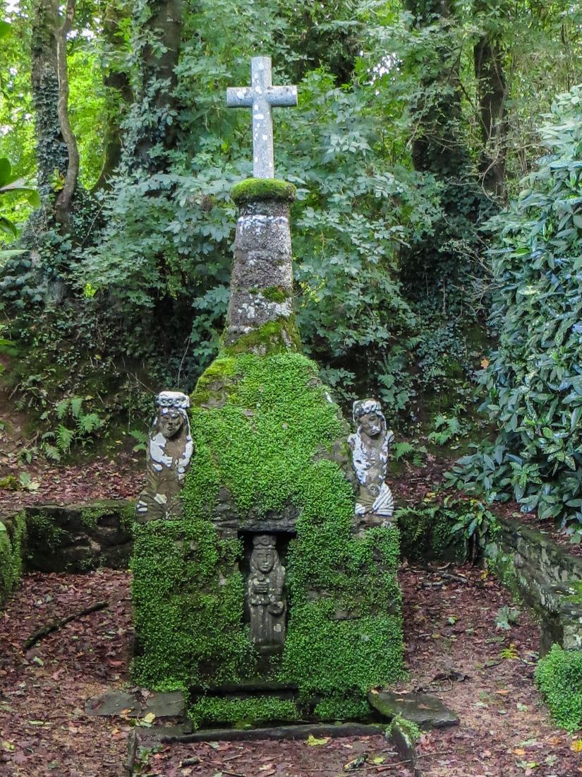 Fountain just outside Guimiliau
