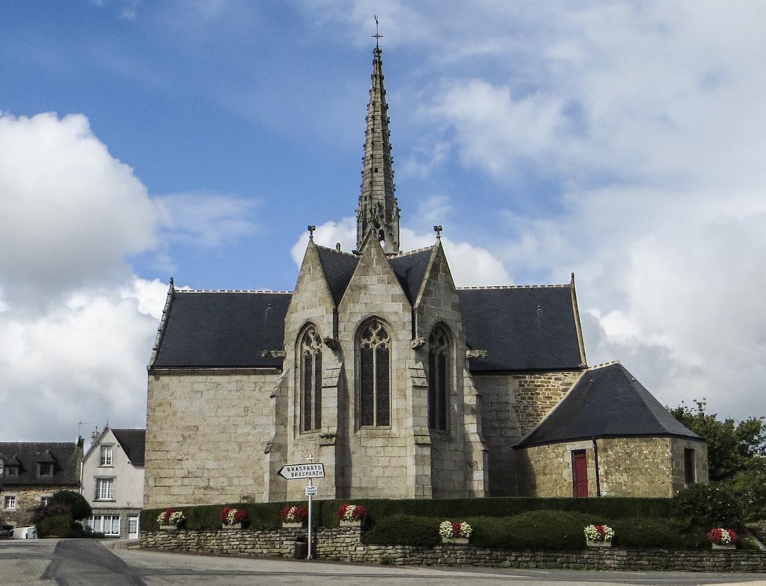 The Church of St Blaise, Le Cloitre-Pleyben