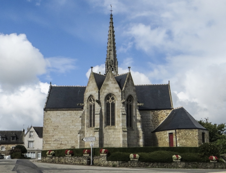 The Church of St Blaise, Le Cloitre-Pleyben