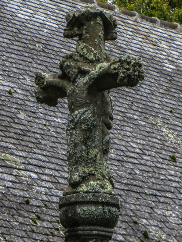 The Calvary of the Chapel of La Fontaine Blanche