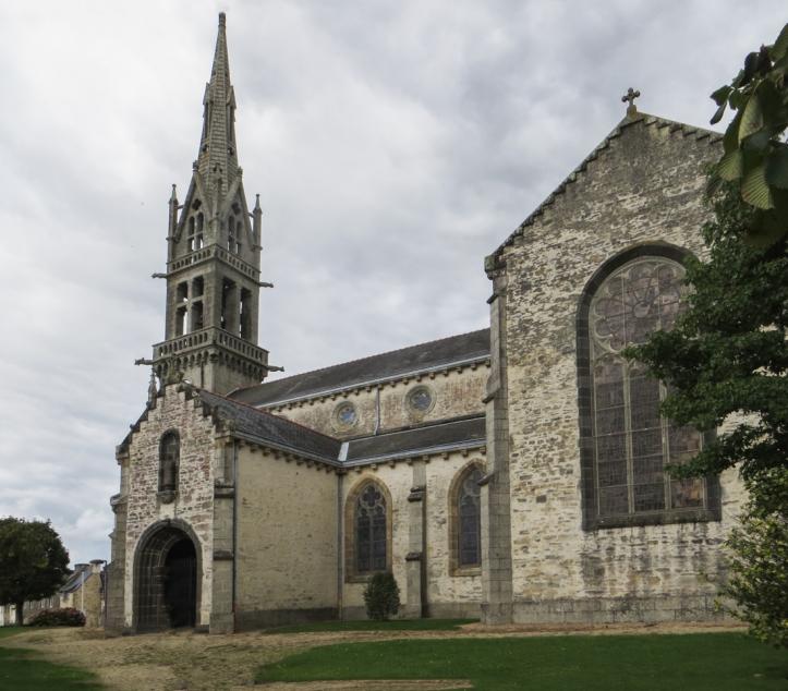 The Church of St Pierre, Hanvec