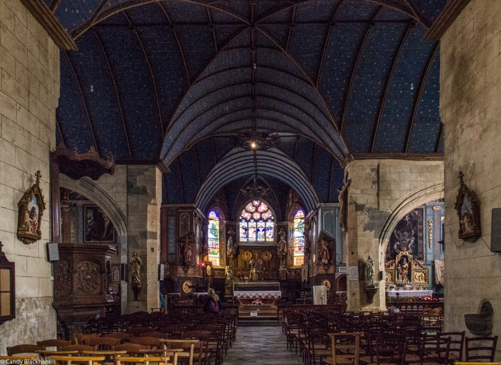 The Church of Saint Sauveur in Le Faou