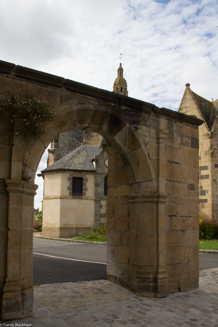 The remains of the Triumphal Arch, The Church of Saint Sauveur in Le Faou