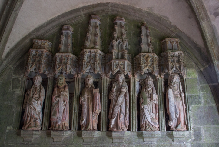 The Apostles in the South Porch, Notre Dame de Rumengol