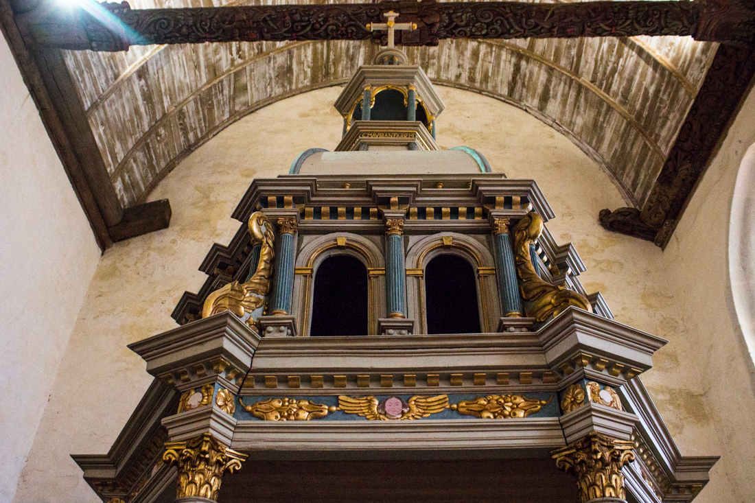 Part of the Baptistry in the Church of St Salomon