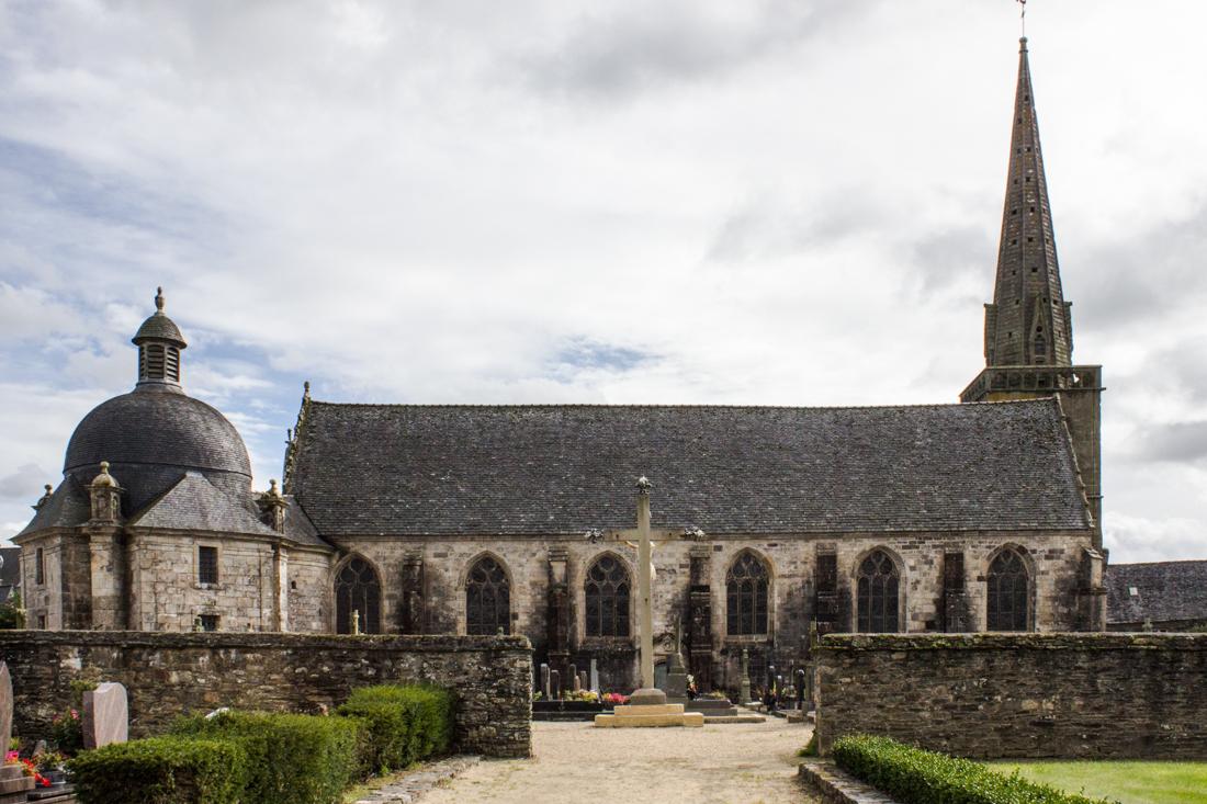 The Church of St Salomon, La Martyre