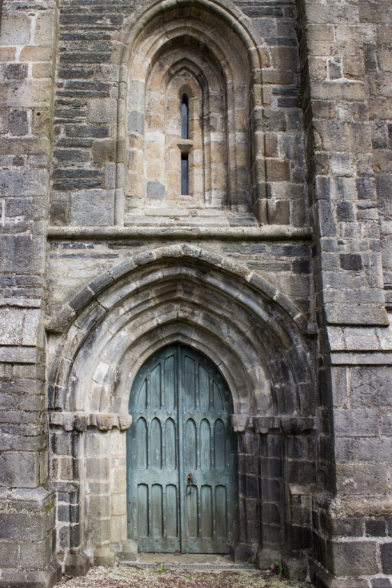 The West Door, The Church of St Salomon, La Martyre