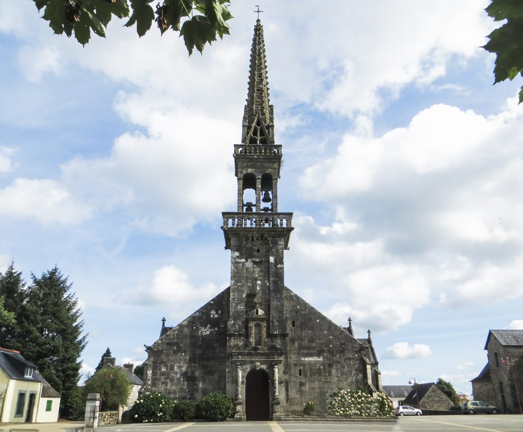 The Church of St Pierre, Plouye