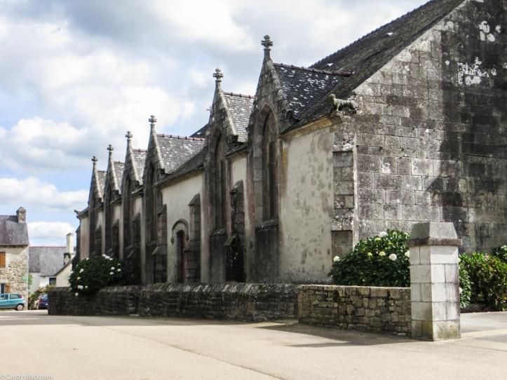The Church of St Pierre, Plouye