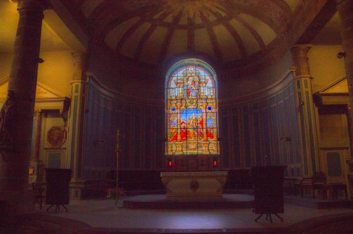 The Church of St Mathieu, Morlaix