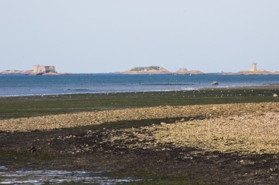 The Castle of Taurus in the Bay of Morlaix