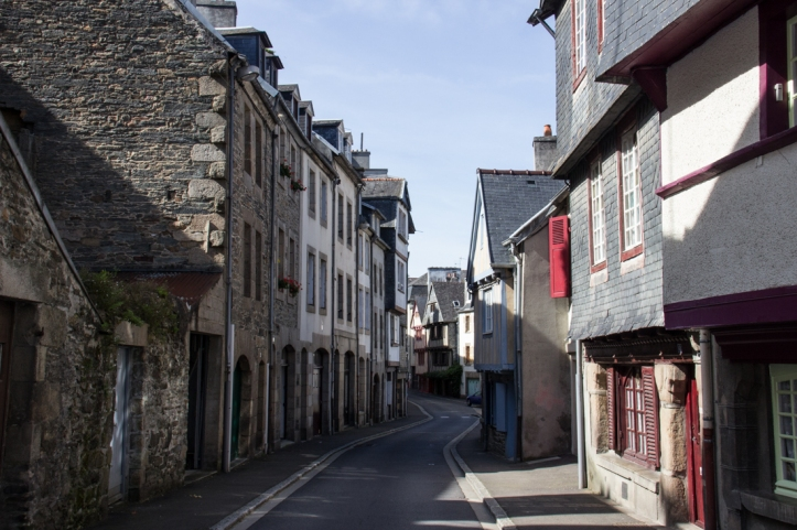 The old quarter of Morlaix