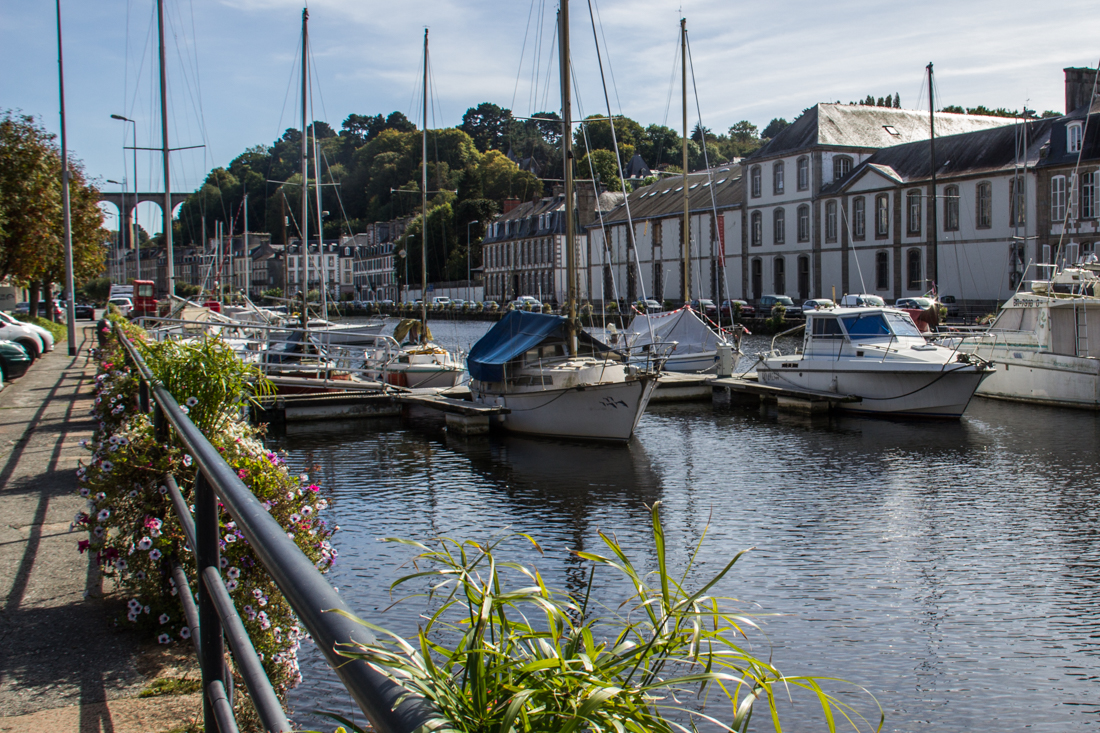 The Marina Lock in Morlaix