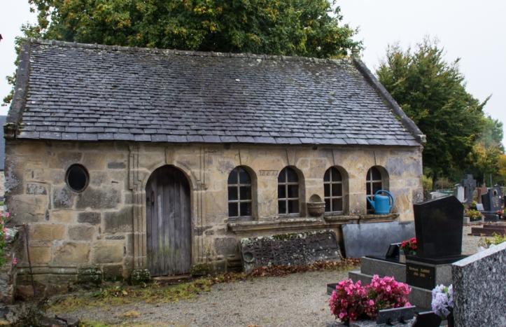 Th Ossuary, the Church of St Peter & St Paul, Argol